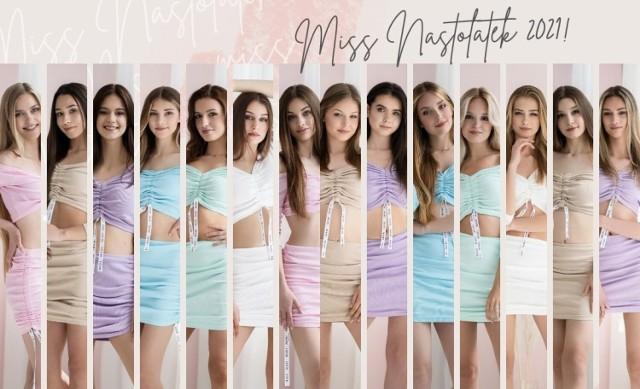 Kandydatki do tytułu Miss Nastolatek Ziemi Łódzkiej 2021