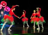 Baletowe widowisko na scenie RCKP w Krośnie. Zatańczyło ponad 80 tancerek [ZDJĘCIA]