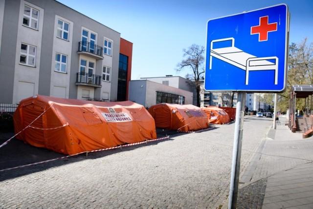 06.04.2020 torun szpital zakazny koronawirus fot. jacek smarz / polska press