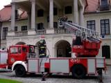 Muzeum w Kozłówce: Strażacy uratowali rezydencję Zamoyskich (ZDJĘCIA)