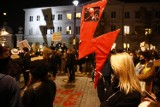 Warszawa: Protest rolników i Strajk Kobiet przed Sejmem, Strajk Studentek przed UW. Relacja, zdjęcia 28.10