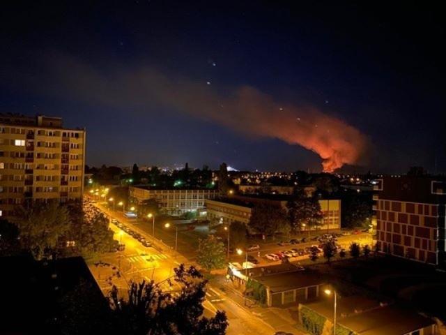 Pożar przy ulicy Starogroblowej
