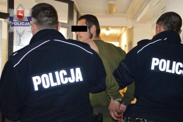 Policjanci zatrzymali nożownika z gminy Obsza