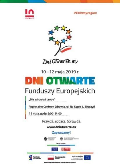 Dni Otwarte Funduszy Europejskich w Regionalnym Centrum Zdrowia w Zbąszyniu - 11 maja 2019 r. Zmieniamy Wielkopolskę
