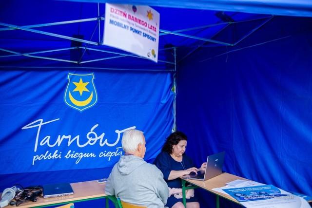W minioną sobotę można było się spisać również przy okazji Festynu Dzień Babiego Lata na tarnowskich błoniach, gdzie utworzono mobilny punkt spisowy
