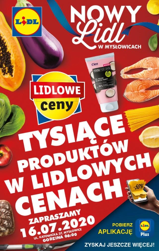 Otwarcie Lidla w Mysłowicach już 16 lipca