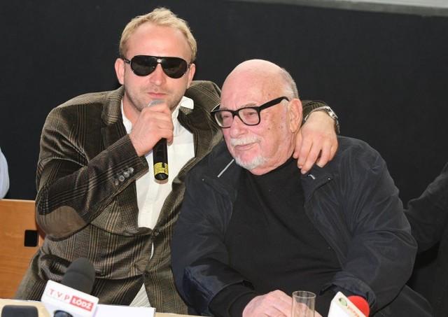 Jerzy Hoffman i Borys Szyc