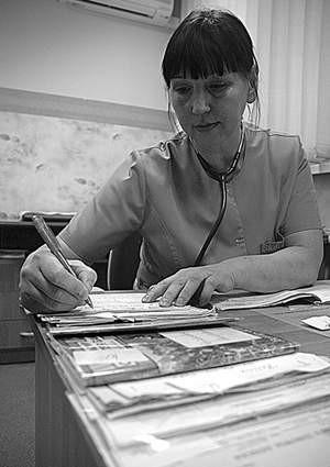 W Czechach grypa już szaleje, ale do Cieszyna jeszcze nie dotarła. Krystyna Krygel miała wczoraj zaledwie kilku pacjentów.