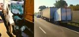 Śmiertelny wypadek na A4. Bus wbił się w tył samochodu ciężarowego