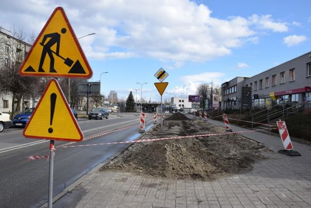 """Droga rowerowa między Centrum Przesiadkowym """"Ligota"""" a ulicą Medyków ma powstać przed końcem kwietnia"""
