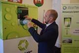 W Wieluniu zaprezentowano nowoczesny automat do segregacji odpadów. W mieście docelowo stanie ich 30 [FOTO, FILM]