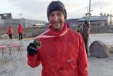 Gdynianin zajął drugie miejsce w polarnym maratonie! Pokonał 42 km w nieco ponad 3 godziny!