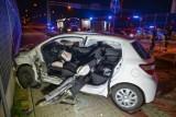 Wypadek na obwodnicy Przemyśla. Na skrzyżowaniu alei Solidarności z ul. Bystrzyckich zderzyły siędwa samochody. Trzy osoby zostały ranne