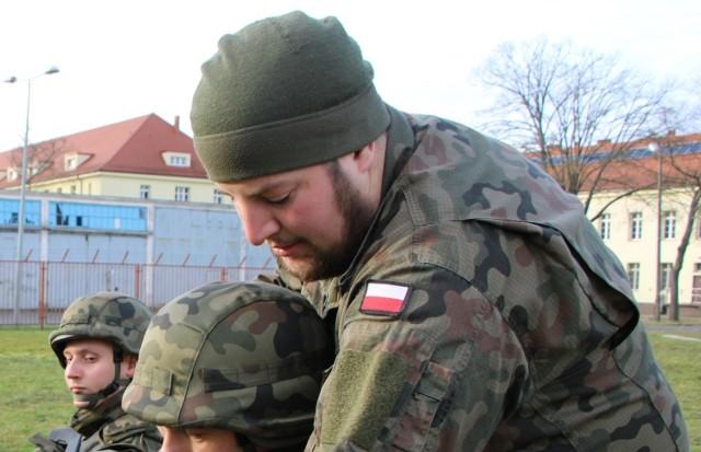 kpr. Jarosław Hardej z 14 Zachodniopomorskiej Brygady Obrony Terytorialnej