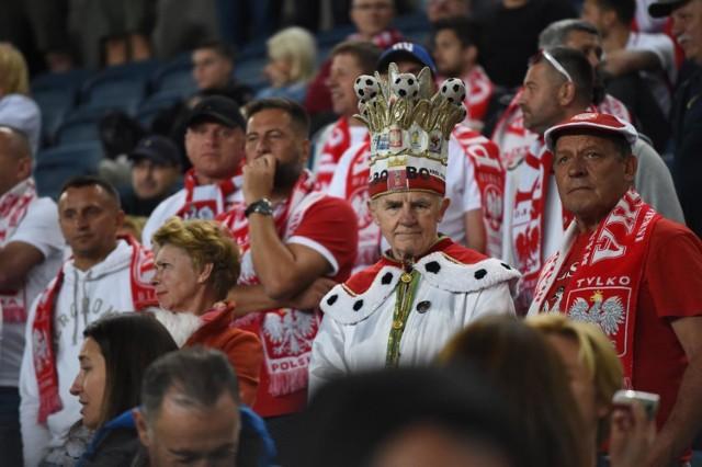 Tak polscy kibice dopingowali w Jerozolimie Biało-Czerwonych