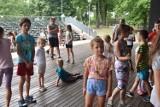 """Trzecie spotkanie z cyklu """"Animacje na wakacje"""" w amfiteatrze w Wągrowcu. Zobacz zdjęcia"""
