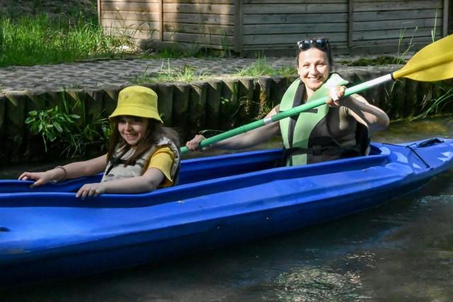 Sobota. 5.06.2021. Spływ kajakami w Bukownie pod Olkuszem