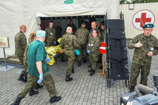 Żandarmeria Wojskowa przyjęła zgłoszenie w sprawie nieprawidłowości na szczeblu dowódczym w 1. Wojskowym Szpitalu Polowym w Bydgoszczy