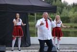 Koncert na wyspie w Opatówku. Była muzyka i biesiadne show. ZDJĘCIA