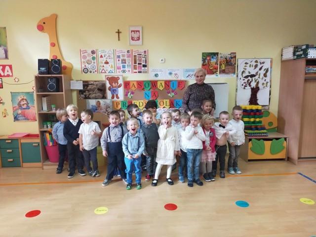 Pasowanie na przedszkolaka w Publicznym Przedszkolu nr 7 w Zduńskiej Woli
