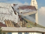 Pożar kościoła pw. Maksymiliana Marii Kolbego w Białymstoku. Mienie warte 10 milionów złotych uratowane! Jak wyglądała akcja gaśnicza?