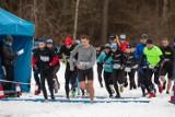Bydgoscy biegacze trenowali przed zawodami w Myślęcinku [zdjęcia]