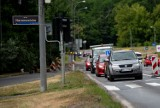Zamknięta Naramowicka przez... Lidla. Objazdy i korki na północy Poznania. Kierowcy zagubieni [ZDJĘCIA]
