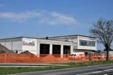 Zbąszyń: Trwają prace na budowie nowej remizy strażackiej i Centrum Zarządzania Kryzysowego [Zdjęcia - 28.04.2021]