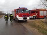 Tragedia w Czerninie. Podczas pracy przy samochodzie zmarł mężczyzna