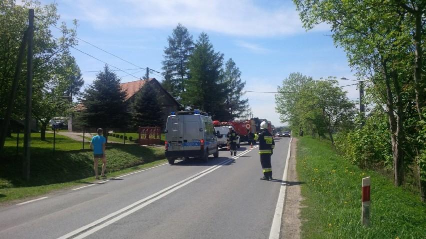 O krok od tragedii w Gierczycach, było blisko wypadku...