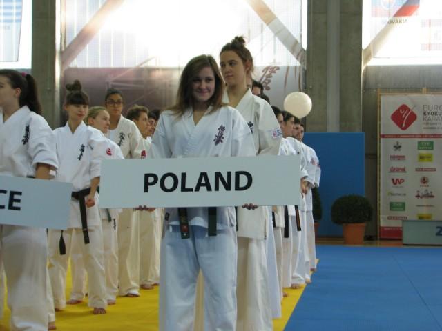 Uroczyste otwarcie ME w Karate