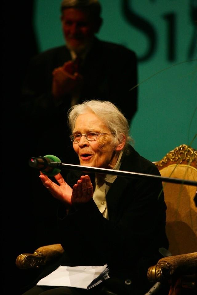 Krystyna Miłobędzka, laureatka Silesiusa za całokształt twórczości w 2013 roku, będzie gościem specjalnym festiwalu