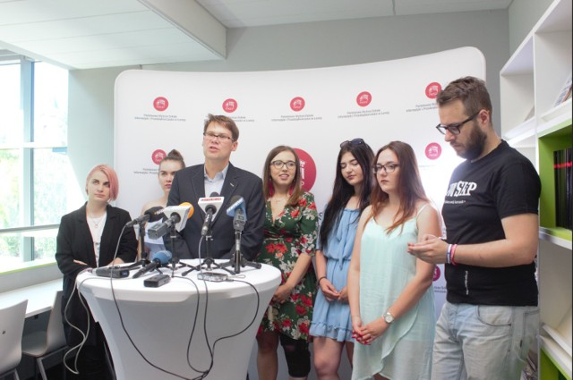 Dzisiaj w PWSIiP odbyła się konferencja prasowa poświęcona Tygodniu Kultury Studenckiej