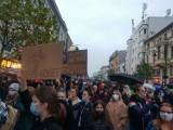 Protesty w Łodzi i w regionie w piątek (23.10) po decyzji Trybunału Konstytucyjnego, dotyczącej zaostrzenia przepisów aborcyjnych