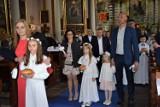 I Komunia Święta, w parafii pw. NMP Wniebowziętej w Zbąszyniu - 15 maja 2021 [Zdjęcia]