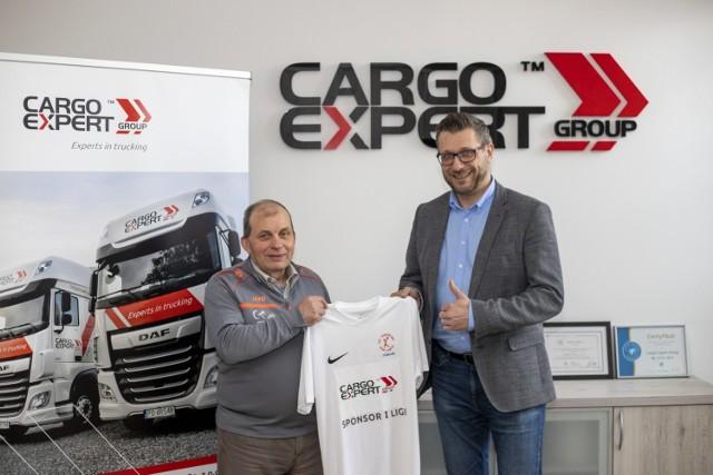 Firma Cargo Expert Group będzie wspierać finansowo klub w I lidze.