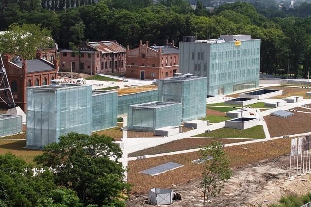 Budowa Muzeum Śląskiego