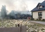 Wybuch gazu. Dziecko i dwóch dorosłych zostało rannych