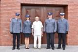 KPP Śrem. Śremscy mundurowi podziękowali za opiekę swojemu duszpasterzowi
