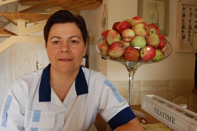 Dorota Kuchta - kucharz w restauracji Zielone Wzgórza w Mądrzechowie