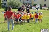 Koszykówka w przedszkolu! Koszykarze zespołu Grupa Sierleccy Czarni Słupsk z wizytą w przedszkolu nr 19 w Słupsku