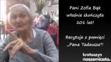 """Zofia Bąk skończyła 101 lat! Nadal recytuje """"Pana Tadeusza"""" z pamięci! [FILM + ZDJĘCIA]"""
