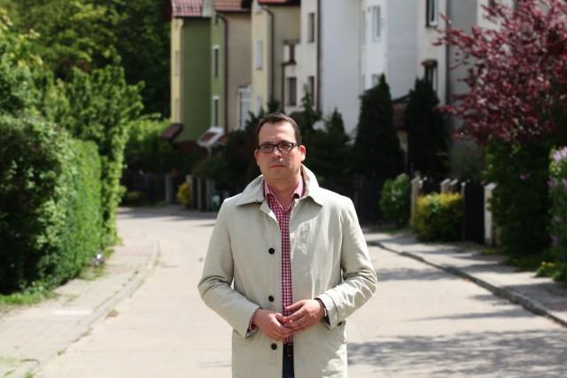 Marcin Strzelczyk, kandydat na prezydenta Gdyni.
