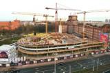 Konstrukcja OVO Wrocław w połowie gotowa [zdjęcia]