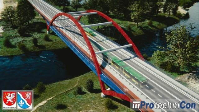 Całkowita długość nowej przeprawy wyniesie blisko 280 metrów (to o prawie 100 metrów więcej niż ma obecnie istniejący most) a jej nośność przewidziano na 50 ton (20 ton więcej).  Zobacz też: Tak powstawał jeden z największych mostów w Polsce