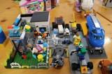 Wystawa klocków LEGO w domu kultury w Ożarowie ZDJĘCIA