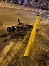 Bytom: 15-latek wjechał Junakiem w autobus. Dwie osoby trafiły do szpitala
