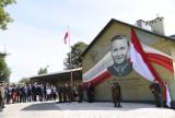 W Jarosławiu odsłonięto mural poświęcony mjr. Tadeuszowi Zielińskiemu [ZDJĘCIA]