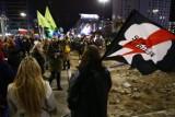 Strajk Kobiet znów na stołecznych ulicach. Paraliż ronda Dmowskiego
