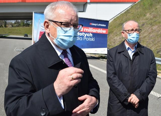 Poseł Bolesław Piecha i senator Wojciech Piecha mówili o dużych pieniądzach dla regionu